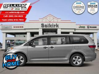 Used 2020 Toyota Sienna LE Dynamic Radar Cruise Control for sale in Selkirk, MB