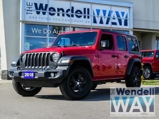Used 2018 Jeep Wrangler Unlimited Sport S for sale in Kitchener, ON
