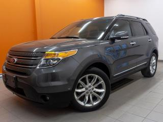 Used 2015 Ford Explorer LIMITED 4X4 *TOIT PANO* GR. REMORQ *ALERTES* PROMO for sale in St-Jérôme, QC