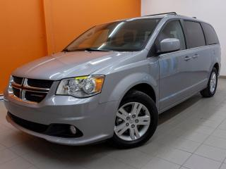Used 2018 Dodge Grand Caravan CREW *SIEGES STOW'N'GO* CLIM 3 ZONES *MAGS* PROMO for sale in St-Jérôme, QC
