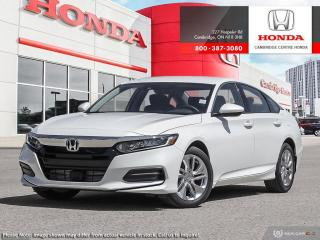 New 2020 Honda Accord LX 1.5T LX for sale in Cambridge, ON