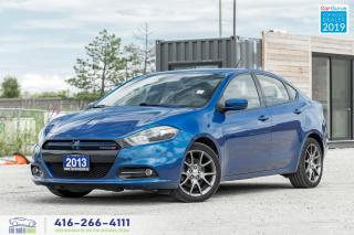 Used 2013 Dodge Dart Rallye|No Accident|Sunroof|Back Up Camera for sale in Bolton, ON