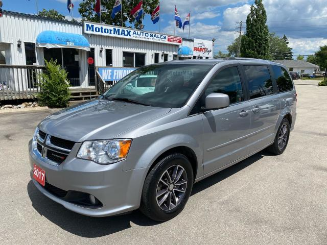2017 Dodge Grand Caravan SXT Premium Plus-dvd-Navi-Lthr-Accident Free