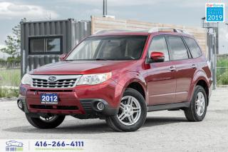 Used 2012 Subaru Forester X|Sunroof|Bluetooth| for sale in Bolton, ON