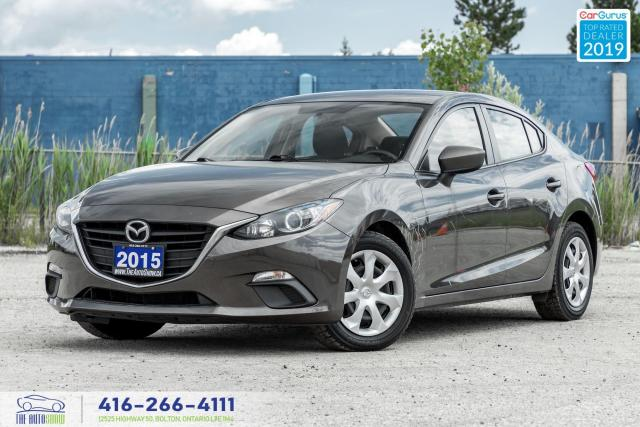 2015 Mazda MAZDA3 GX|Clean Carfax|6 Speed|Push Start