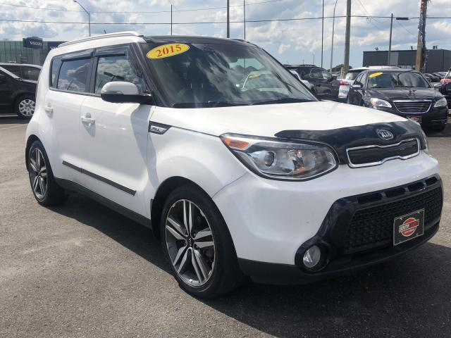 2015 Kia Soul SX Luxury*NAV*BACKUP CAM*PANO ROOF*