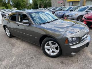 Used 2010 Dodge Charger SXT/ 3.5L/ LEATHER/ ALLOYS/ COLD AC/ SPOILER ++ for sale in Scarborough, ON