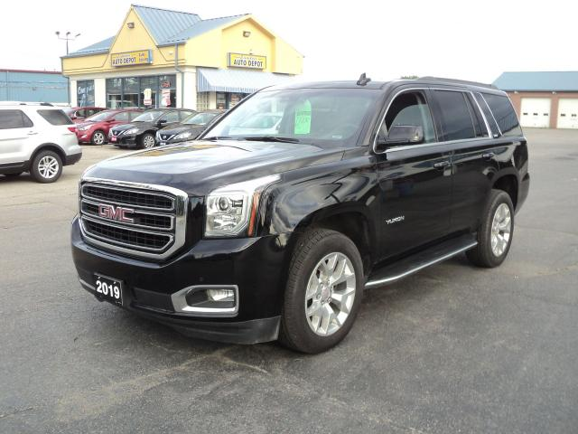 2019 GMC Yukon 1500 SLT LeatherHeatedCool  Nav DVD Roof  8 Pass