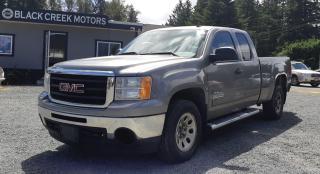 Used 2009 GMC Sierra 1500 WT for sale in Black Creek, BC