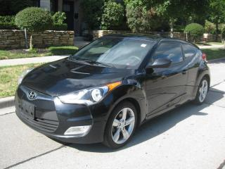 Used 2015 Hyundai Veloster 6SP, LOW KMS, CERTIFIED, NO ACCIDENTS for sale in Toronto, ON