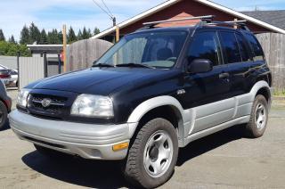 Used 1999 Suzuki Grand Vitara JX for sale in Black Creek, BC