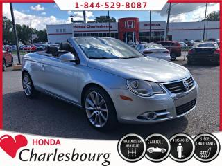 Used 2007 Volkswagen Eos CABRIOLET 2.0T ***MANUEL*** for sale in Charlesbourg, QC