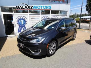 Used 2019 Chrysler Pacifica LIMITED - DVD Player, Power Doors/Gate, Navigation for sale in Nanaimo, BC