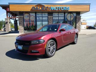 Used 2019 Dodge Charger SXT - AWD, Leather Interior, Navigation, Satellite Radio for sale in Courtenay, BC