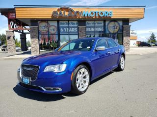 Used 2019 Chrysler 300 300C - Leather Interior, Heated/Cooled Seats, Navigation for sale in Courtenay, BC