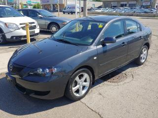Used 2006 Mazda MAZDA3 ***1 OWNER/EXCELLENT CONDITION/SUNROOF/ONLY 36000 KMS*** for sale in Hamilton, ON
