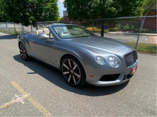 Used 2013 Bentley Continental GTC LE MANS EDITION for sale in North York, ON