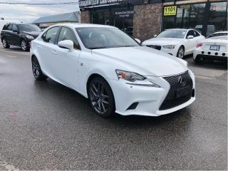 Used 2014 Lexus IS 350 F SPORT3 /AWD /  R.CAMERA / ALSO 2016 IN STOCK for sale in North York, ON