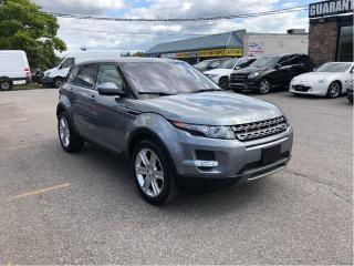 Used 2014 Land Rover Evoque FULLY LOADED WITH NAVI AND PANO ROOF for sale in North York, ON