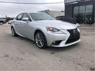 Used 2014 Lexus IS 250 / AWD WITH NAVI AND B.CAMERA for sale in North York, ON