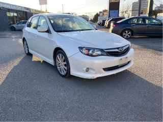 Used 2010 Subaru Impreza Auto 2.5i w-Sport Pkg WITH LEATHER SEATS for sale in North York, ON