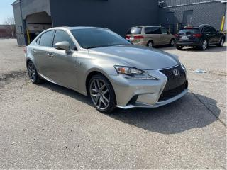 Used 2016 Lexus IS 300 FSPORT /AWD for sale in North York, ON