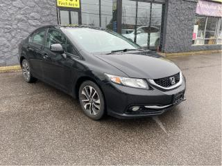 Used 2013 Honda Civic 4dr Auto EX-L w-Navi for sale in North York, ON