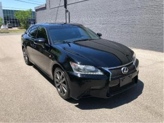 Used 2013 Lexus GS 350 F-SPORT AWD w/NAVI/B.CAM // LOADED!! for sale in North York, ON