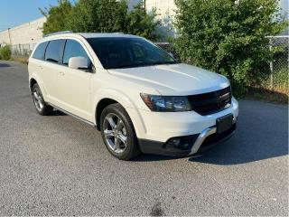 Used 2016 Dodge Journey Crossroad WITH LEATHER & SUNROOF for sale in North York, ON