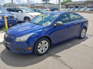 Used 2012 Chevrolet Cruze ***EXCELLENT CONDITION/BLUETOOTH/ONLY 157 KMS*** for sale in Hamilton, ON