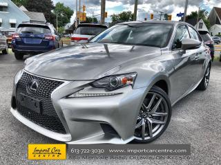 Used 2016 Lexus IS 300 F SPORT 3!!  MARK LEVINSON SOUND  NAV  BLIS  BACKU for sale in Ottawa, ON