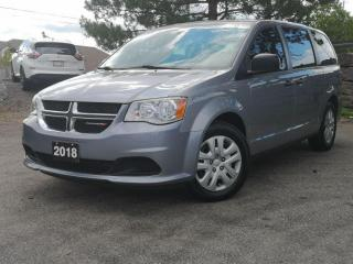 Used 2018 Dodge Grand Caravan Canada Value Package 2WD | Backup Cam | Bluetooth for sale in Waterloo, ON