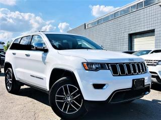 Used 2018 Jeep Grand Cherokee LIMITED|HEATED MEMORY SEATS|SUNROOF|REAR VIEW|WOOD TRIM! for sale in Brampton, ON