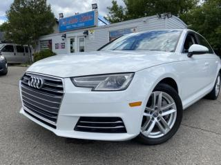 Used 2017 Audi A4 4dr Sdn Auto Komfort quattro FACTORY WARRANTY ACCIDENT FREE for sale in Brampton, ON