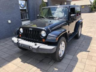 Used 2007 Jeep Wrangler 4WD 2dr Sahara *As Is* for sale in Nobleton, ON