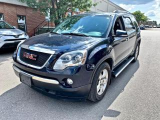 Used 2012 GMC Acadia AWD 4dr SLE2, 7 PASSENGER, ONE OWNER for sale in North York, ON
