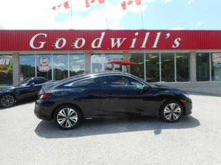Used 2017 Honda Civic COUPE EX-T! HEATED SEATS! SUNROOF! BLUETOOTH! CAM! for sale in Aylmer, ON