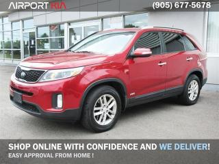 Used 2015 Kia Sorento LX V6 AWD / 7 Seater/ Heated seats/ Bluetooth/ Back-up Sensors/Push Start for sale in Mississauga, ON