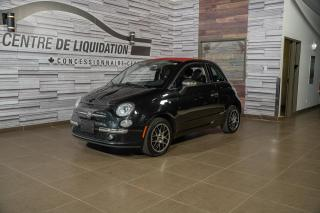 Used 2013 Fiat 500 LOUNGE+CABRIOLET+CUIR+BLUETOOTH for sale in Laval, QC