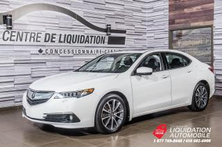 Used 2016 Acura TLX ELITE+V6+GPS+TOIT+MAGS+CUIR+AWD+CAMERA DE RECUL for sale in Laval, QC