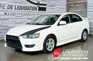 Used 2013 Mitsubishi Lancer SE+GR. ÉLECT+A/C+TOIT+MAGS for sale in Laval, QC