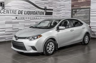 Used 2015 Toyota Corolla LE GR,ÉLECT+A/C for sale in Laval, QC