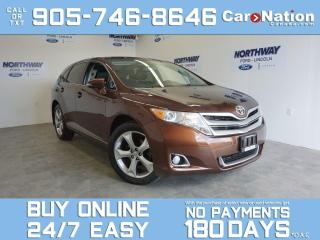Used 2015 Toyota Venza AWD | LEATHER | SUNROOF | NAV | V6 | ONLY 56 KM! for sale in Brantford, ON