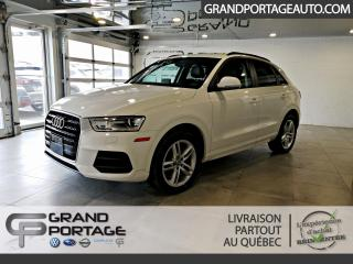 Used 2017 Audi Q3 2.0T Komfort quattro 4 portes for sale in Rivière-Du-Loup, QC