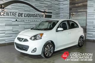 Used 2016 Nissan Micra SR+MAGS+A/C+CAM/REC+CLUETOOTH for sale in Laval, QC