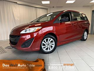 Used 2016 Mazda MAZDA5 GS, Gr. Électrique, A/C, Automatique for sale in Sherbrooke, QC