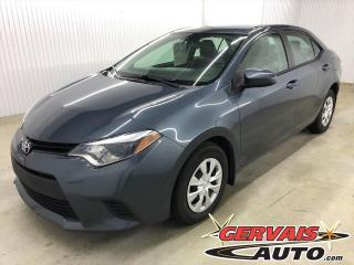 Used 2016 Toyota Corolla A/C BLUETOOTH *Transmission Automatique* for sale in Shawinigan, QC