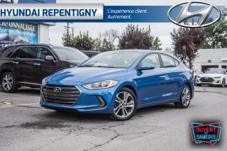 Used 2017 Hyundai Elantra LIMITED 4 PORTES**CUIR,TOIT OUVRANT, NAV, MAGS** for sale in Repentigny, QC