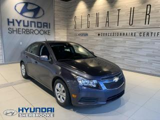 Used 2013 Chevrolet Cruze LT 1.4 TURBO+TOIT OUVRANT+A/C+BLUETOOTH+ for sale in Sherbrooke, QC