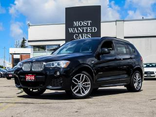 Used 2016 BMW X3 xDrive|M-Sport|NAV|CAMERA|SENSORS for sale in Kitchener, ON